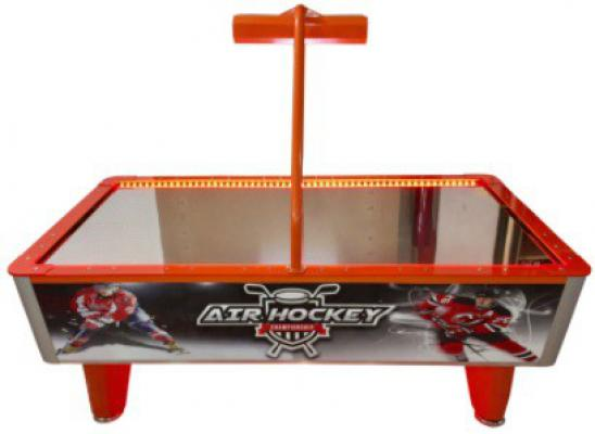 AIR HOCKEY PASLANMAZ YÜZEY TAÇLI MODEL